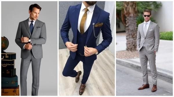 traje passeio completo masculino