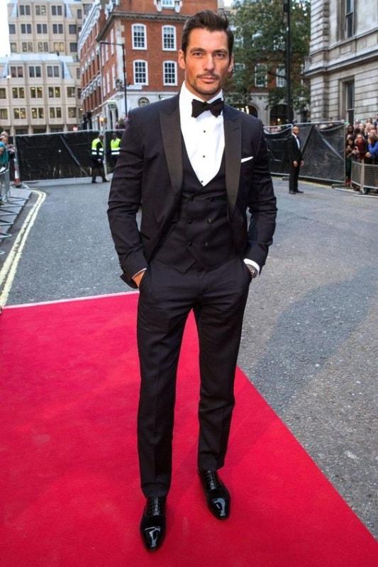 traje black tie para homem