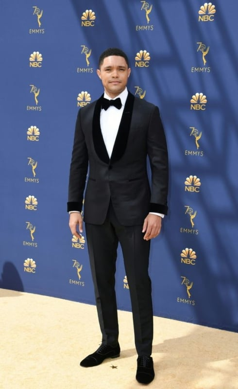 look masculino black tie