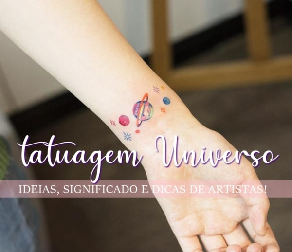 Tatuagem Universo / Galáxia – 40 Ideias Lindas e Inspiradoras!