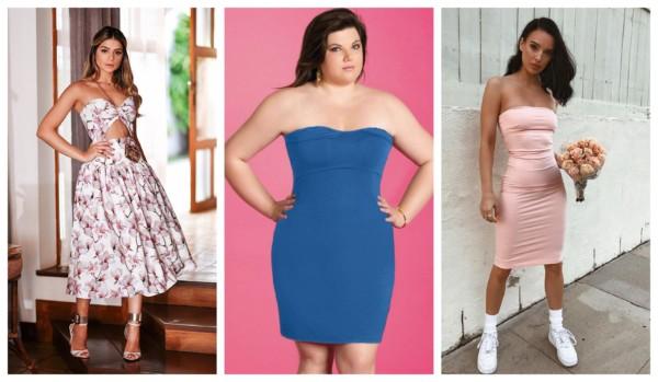 +80 modelos de vestido tomara que caia | Como usar? •【[2021]】