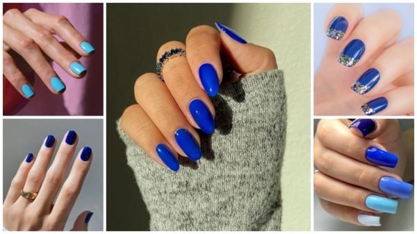 Esmalte Azul: +72 Ideias de Tons Perfeitos para Unhas!