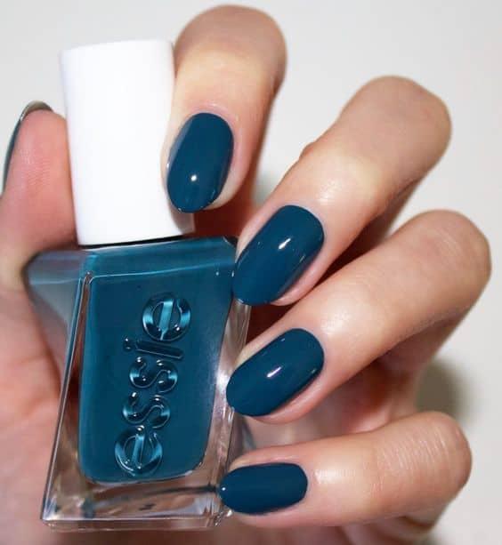 esmalte azul turquesa