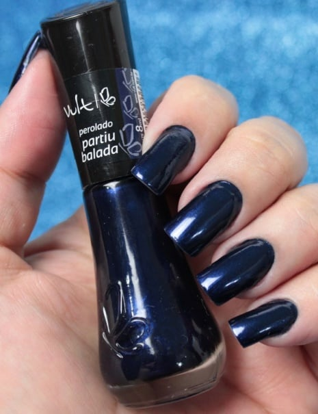 esmalte azul marinho Vult