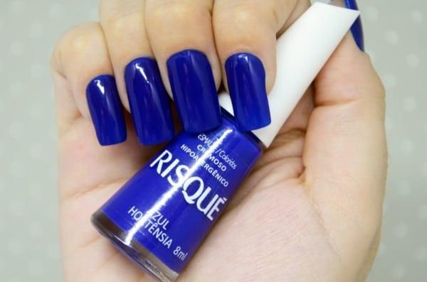 esmalte azul rique