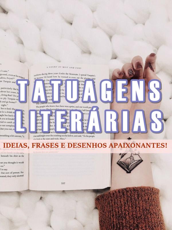 capa do post Tatuagens Literarias