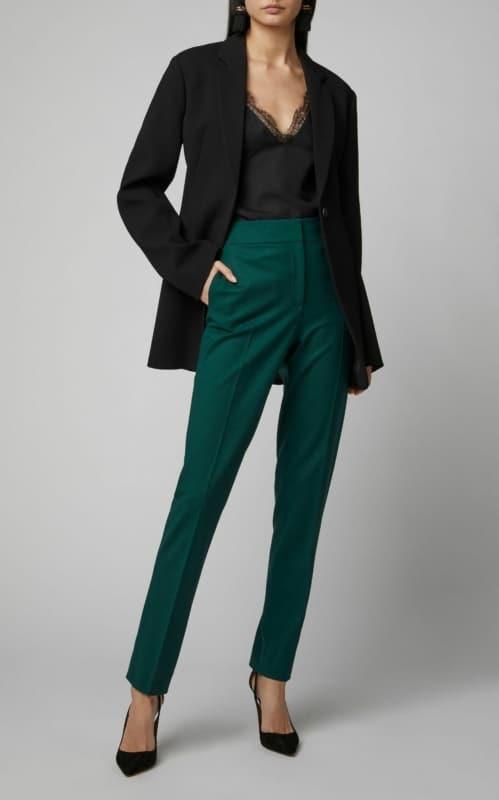 Calca verde esmeralda 70