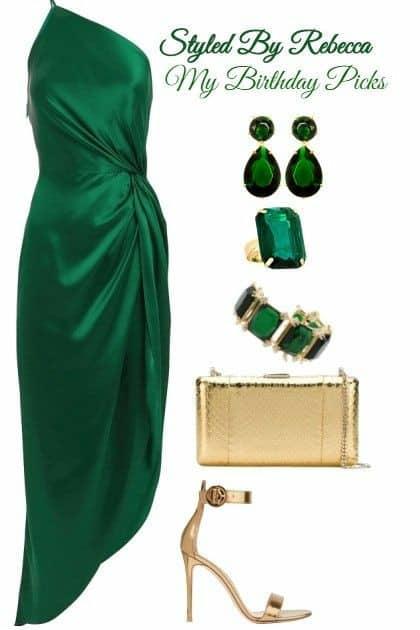 Looks verde esmeralda 48