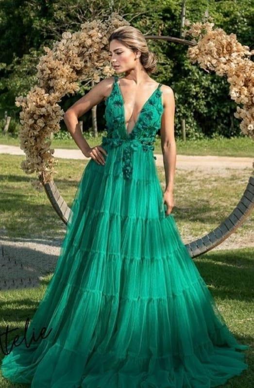 Looks verde esmeralda 52