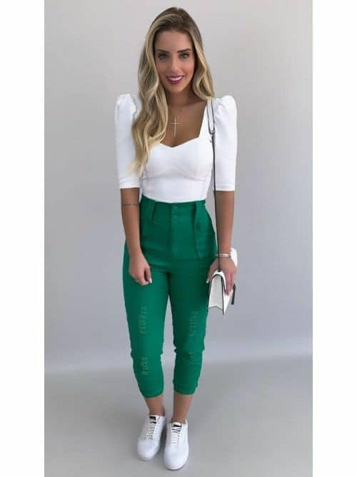 Looks verde esmeralda 60