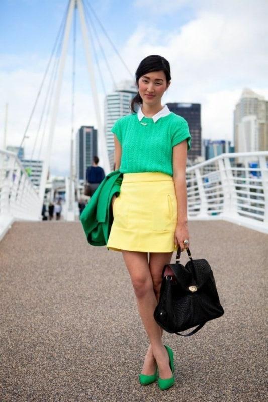 Sapato verde esmeralda 85