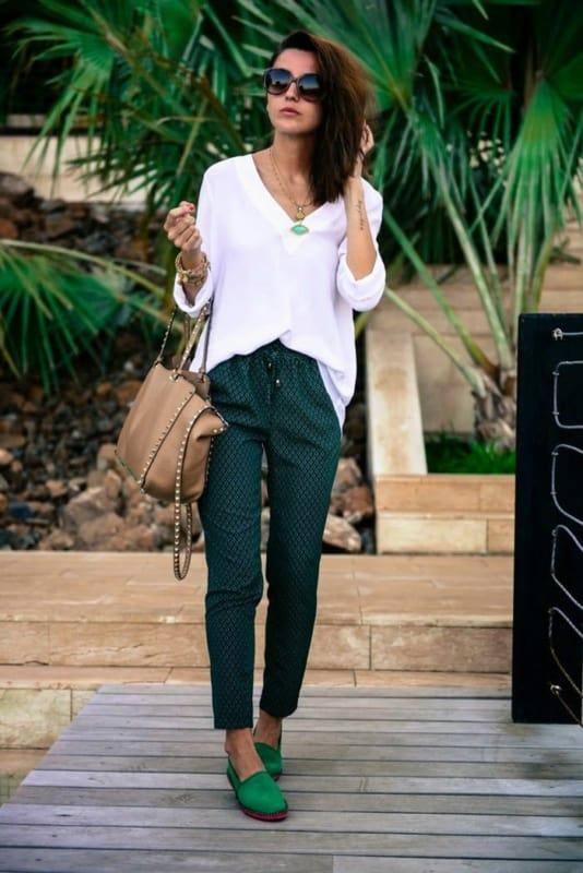 Sapato verde esmeralda 86