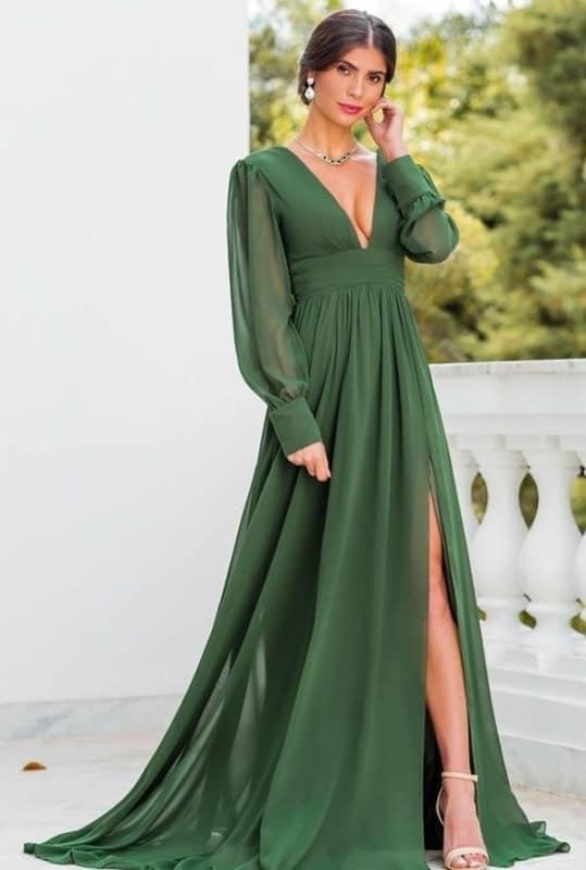Vestido verde 01