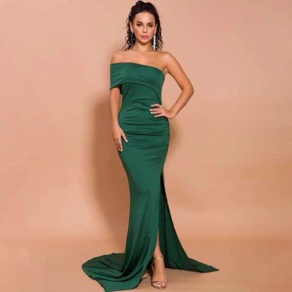 Vestido verde 04