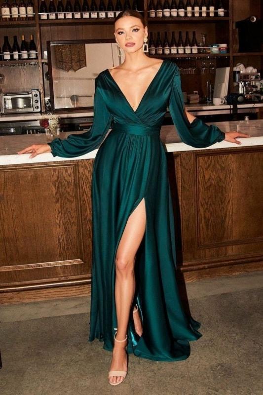 Vestido verde 08