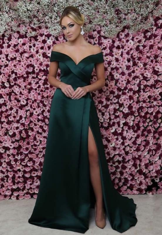Vestido verde 09