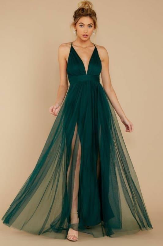 Vestido verde 15