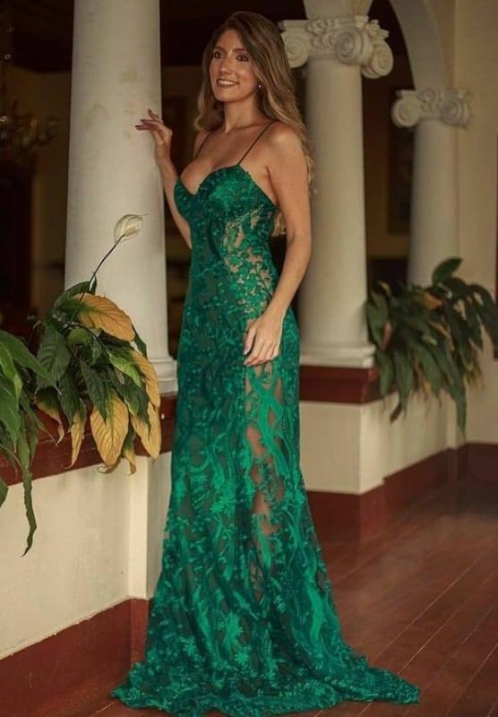 Vestido verde 18