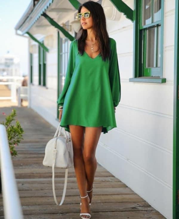 Vestido verde 25