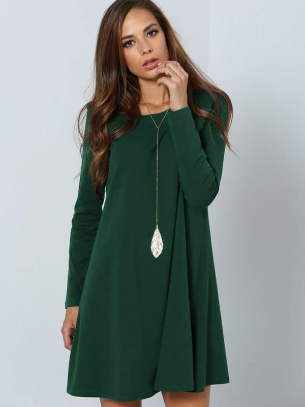 Vestido verde 38