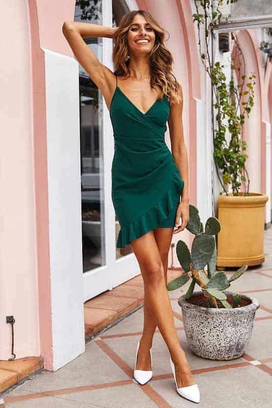 Vestido verde 41