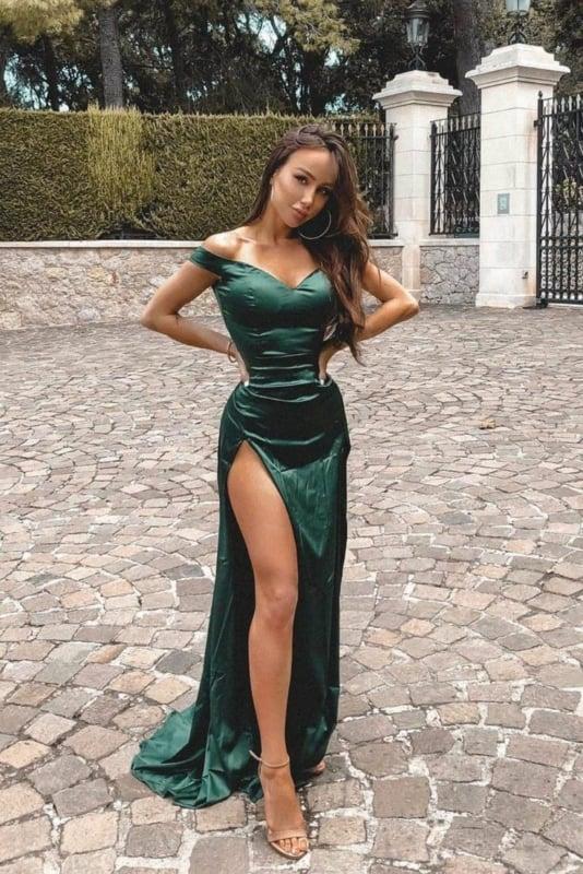 Vestido verde 42